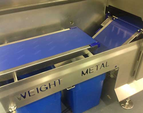 check weigher machine weighing solution